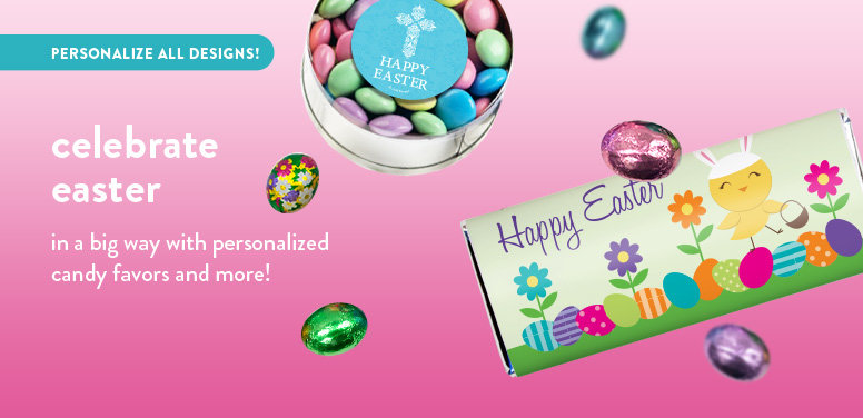 Shop Easter Personalized Candy