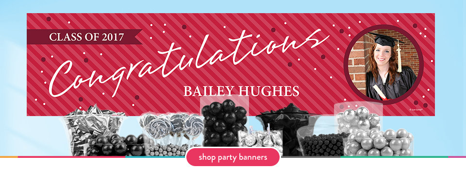 personalized party banners for graduation