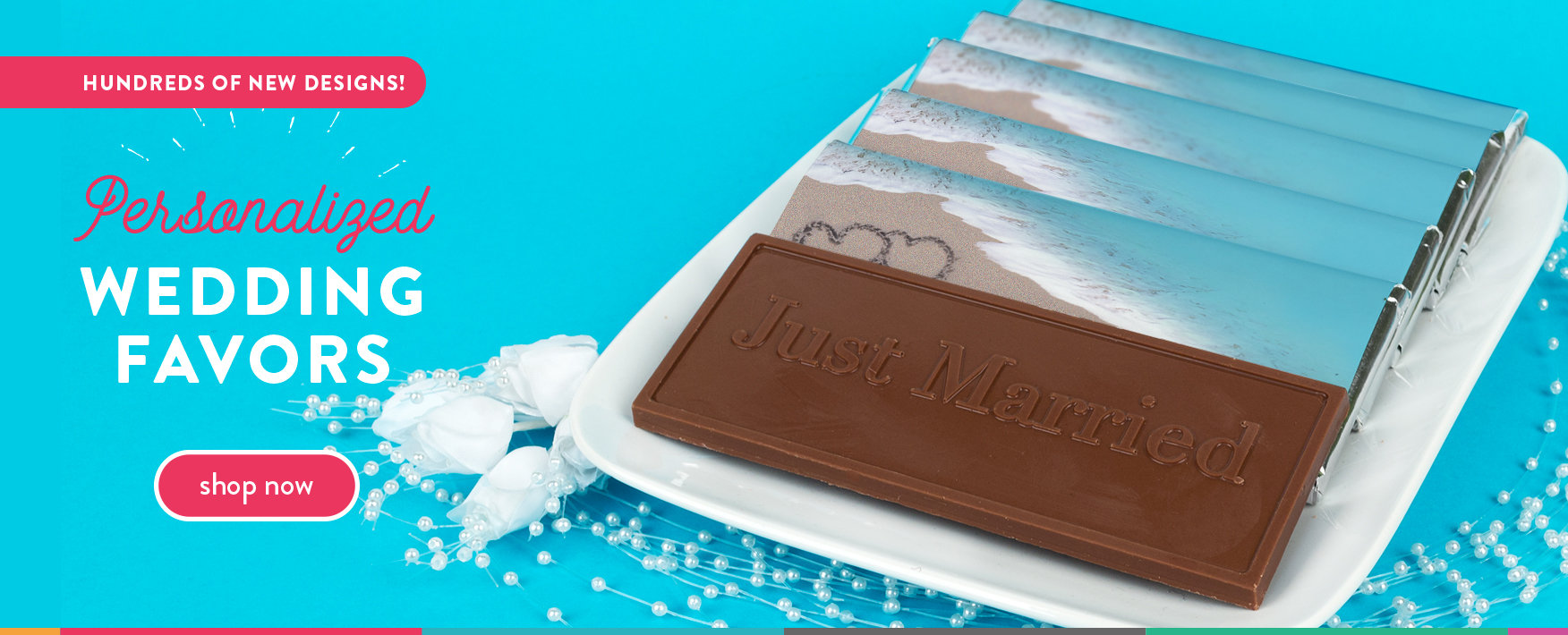personalized wedding candy bars, hershey's kisses and chocolate covered oreo gift packs!