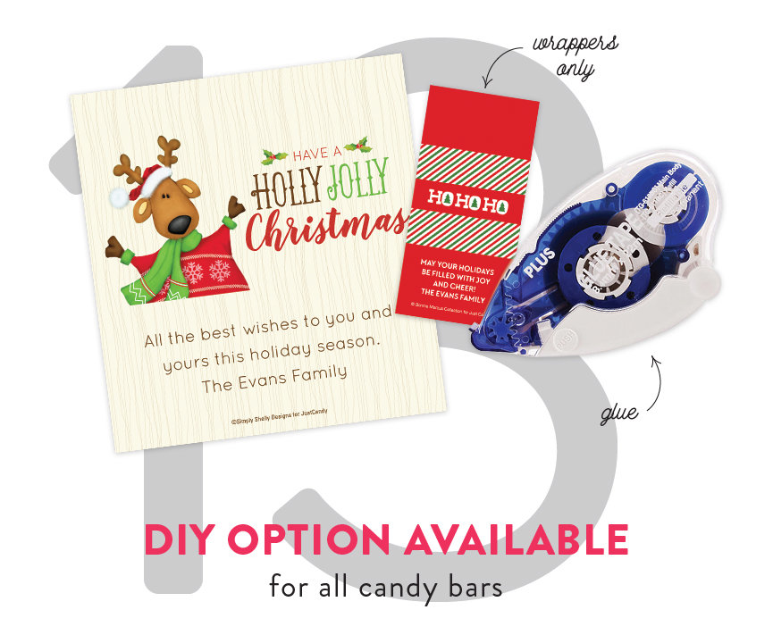 DIY Option Available for All Candy Bars