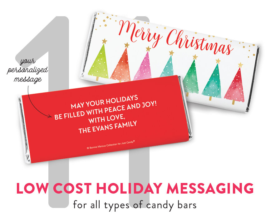Personalize Candy Bar with Your Message