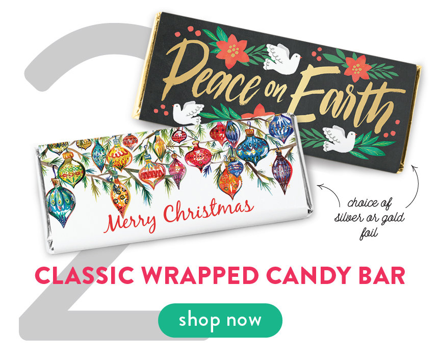 Shop Classic Wrapped Candy Bars
