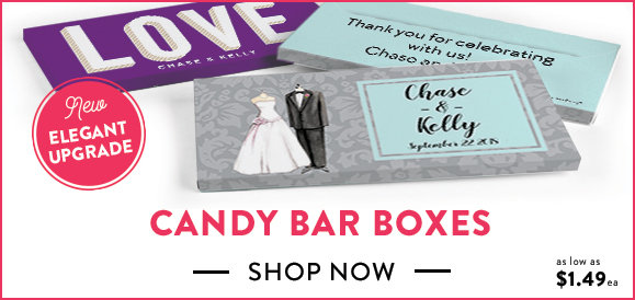personalized candy bar boxes