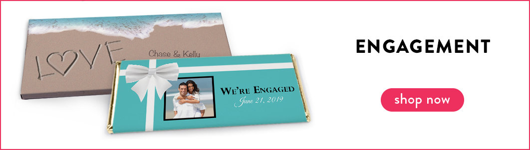 personalized engagement wrappers and boxes