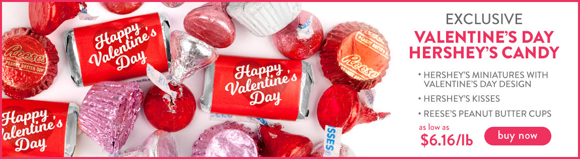 exclusive valentine's day hershey's candy - buy now