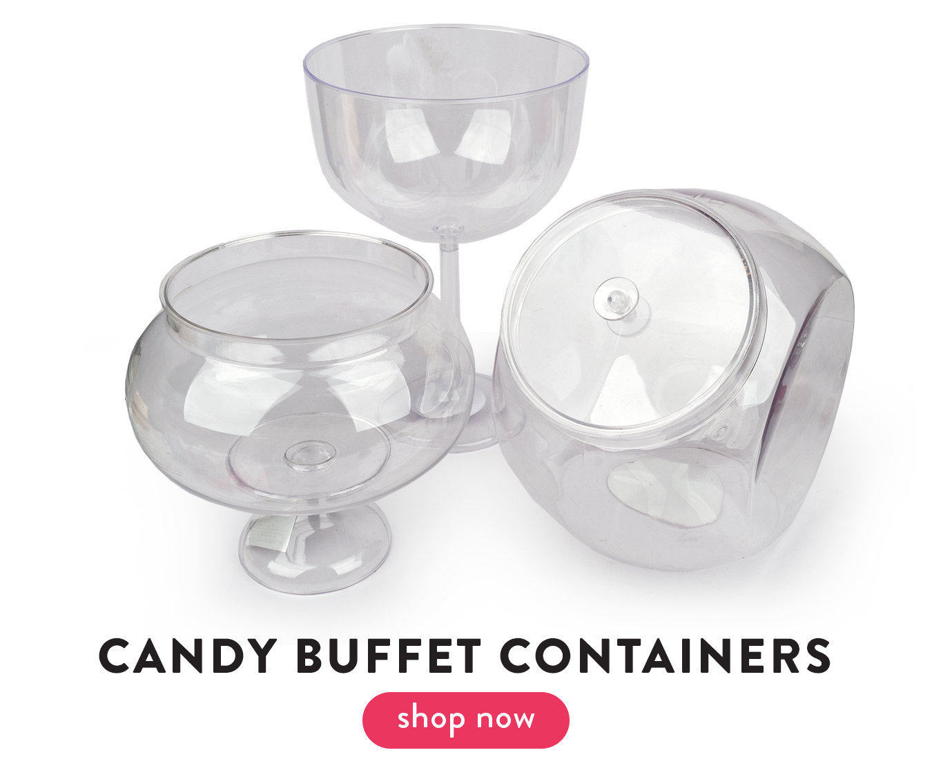 candy buffet containers