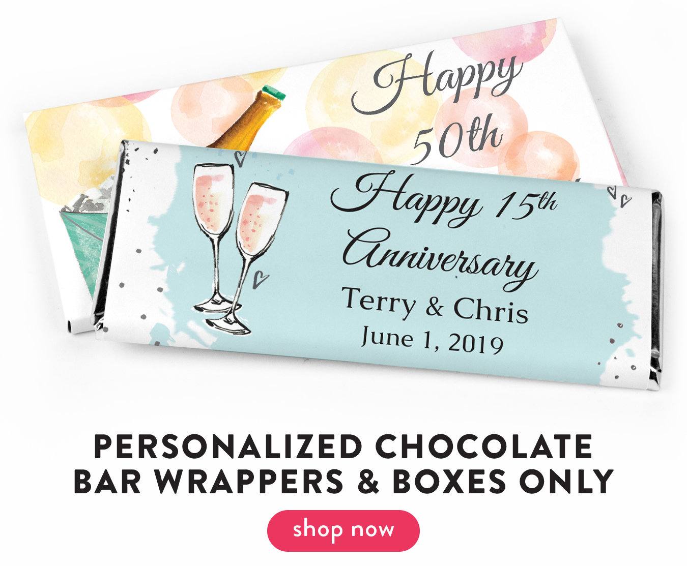 Chocolate Bar Wrappers & Boxes