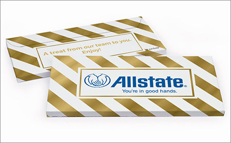 Custom Marketing Personalized Gift Boxes with Candy Bar