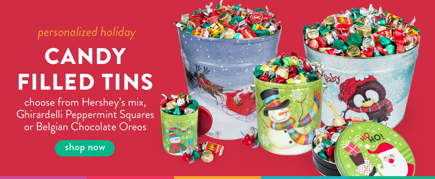 Candy Filled Tins