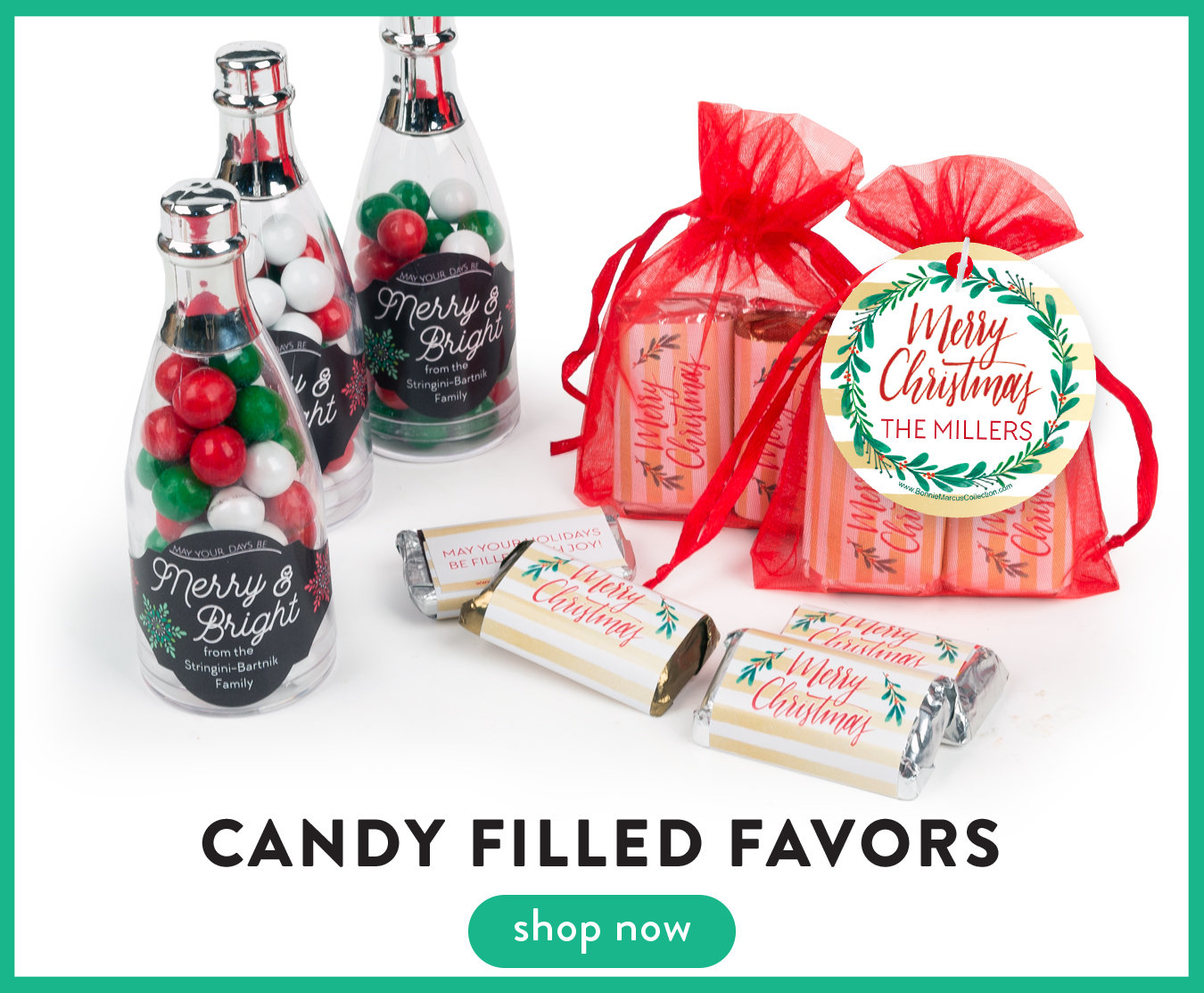 Candy Filled Favors