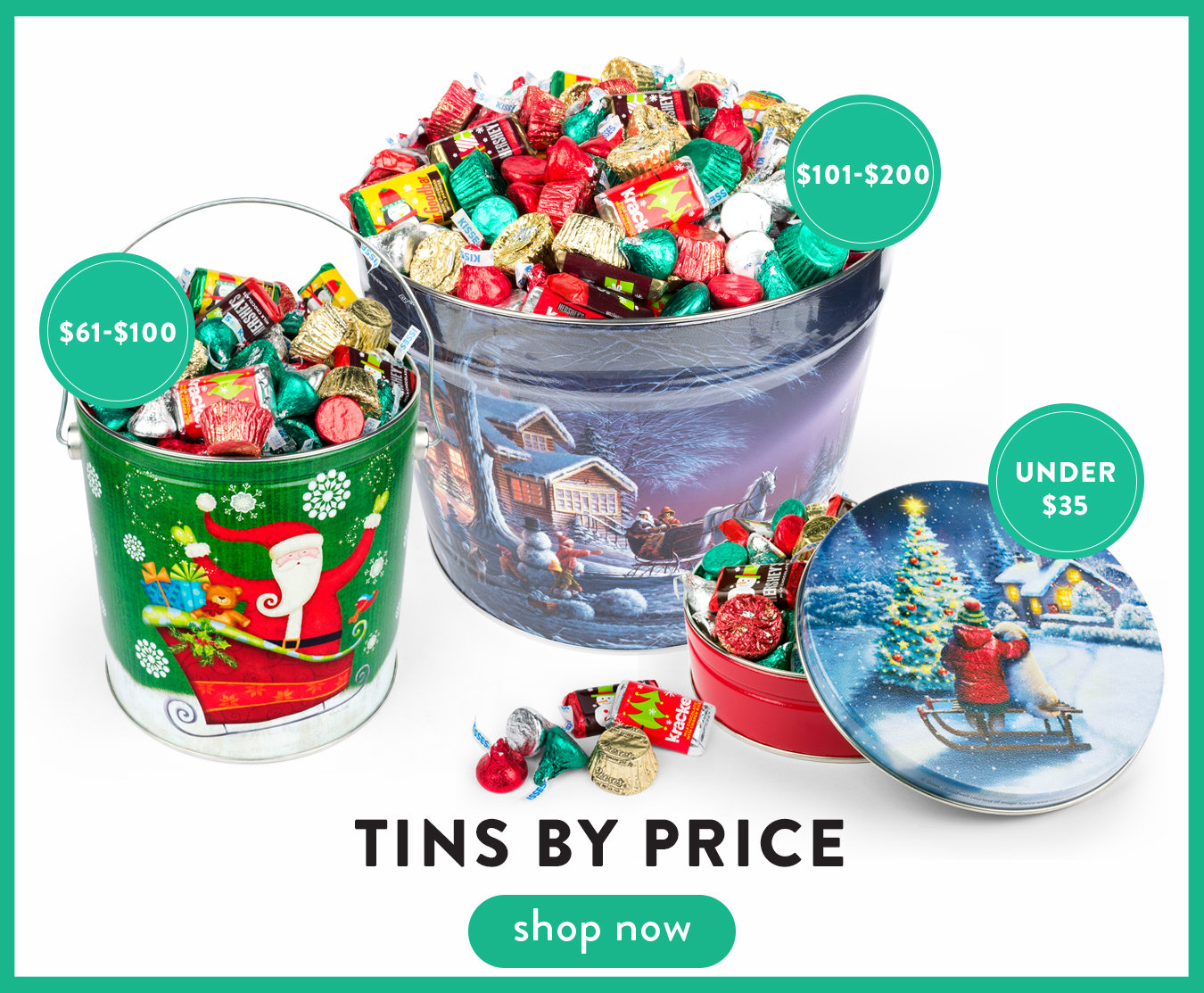 Shop Tins By Price