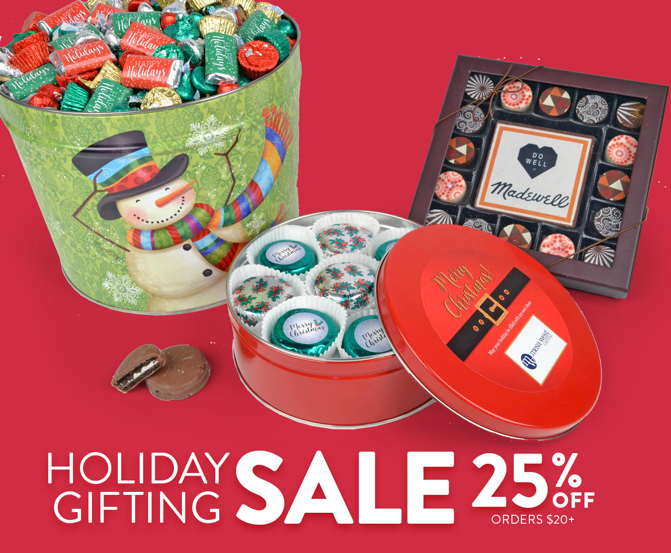 Holiday Gifting Sale 25% Off Orders $20+