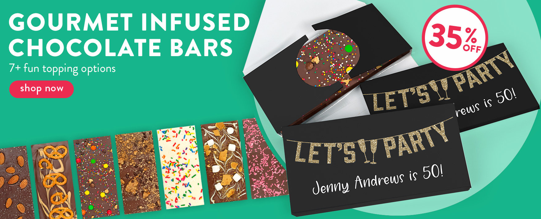 Infused Bars 35% Off