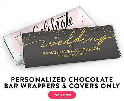 Wedding Chocolate Bar Wrappers