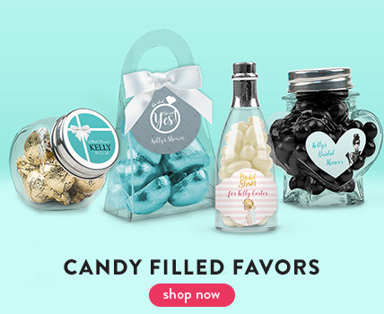 Bridal Shower Candy Filled Favors
