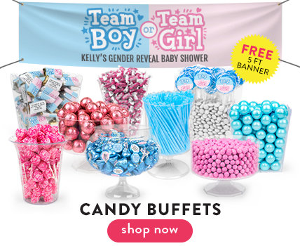 Baby Shower Candy Buffets