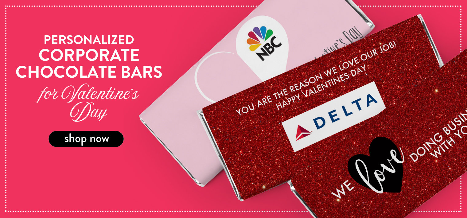 Shop Corporate Valentine Chocolate Bars