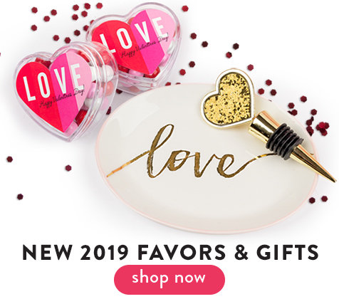 New 2019 Valentine's Favors & Gifts