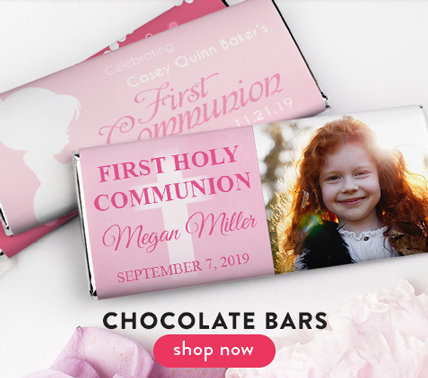Personalized Girl Communion Bars