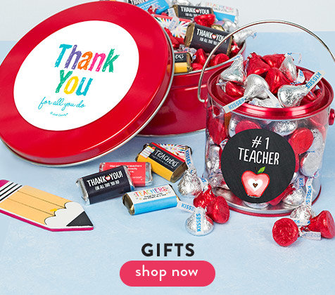 Shop Teacher Appreciation Candy Gifts