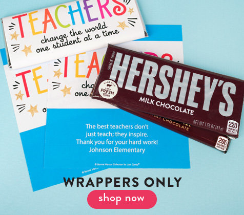 Wrappers For Chocolate Bars