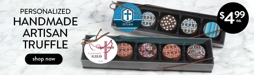 Shop Personalized Confirmation Truffles