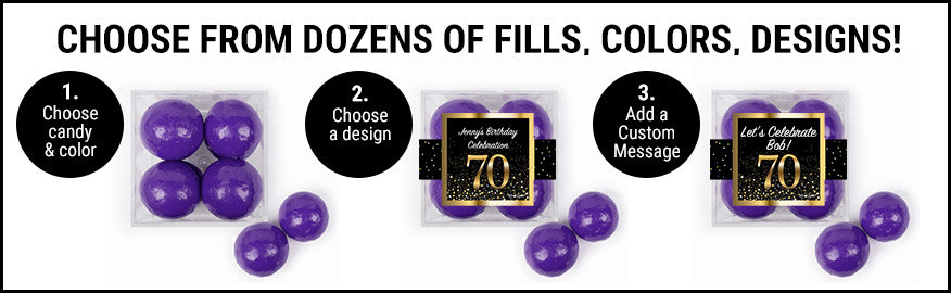Choose from dozens of fills, colors and designs