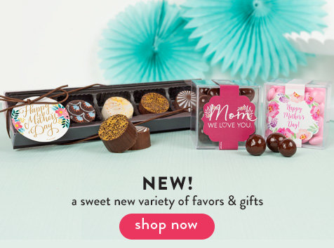 New Mother's Day Gifts and Favors