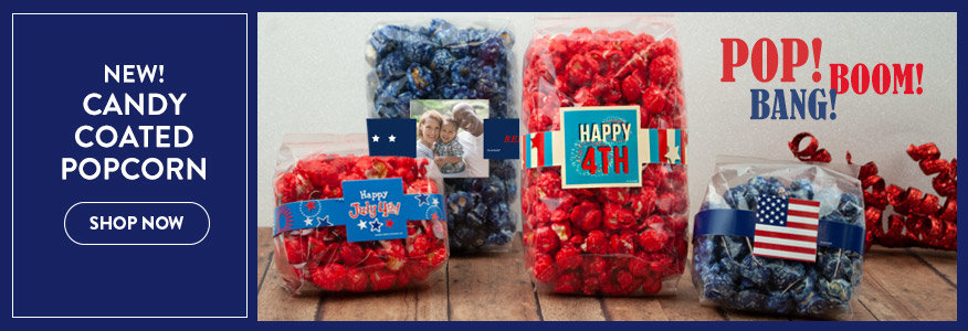 Shop 4th of July Candy Coated popcorn