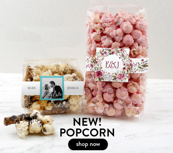 Shop New Personalized Popcorn