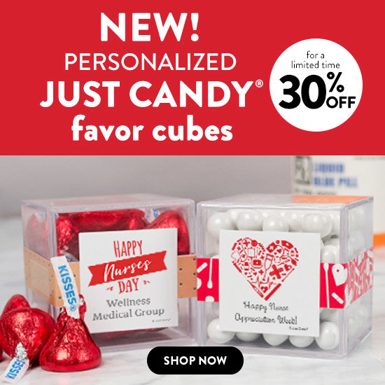 JUST CANDY favor cubes