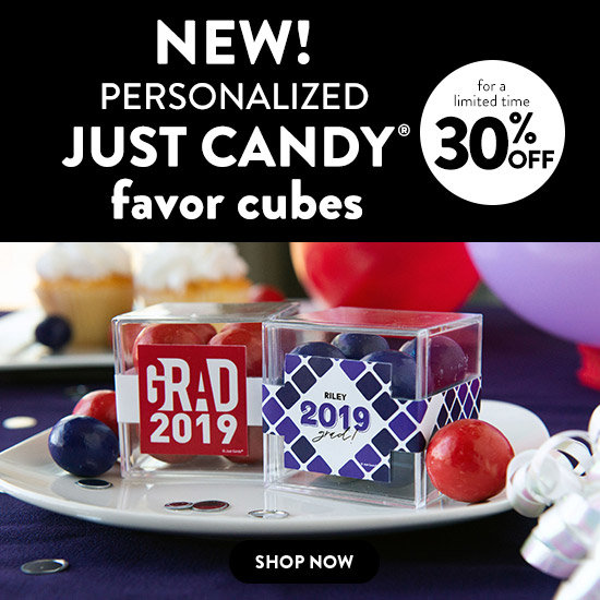 Shop New Just Candy Favor Cubes