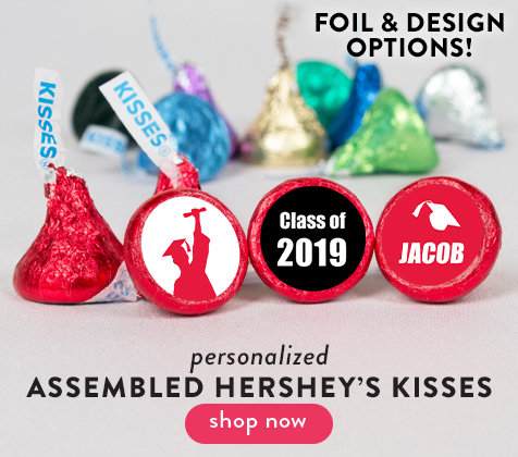 Personalized & Assembled Hershey's Kisses