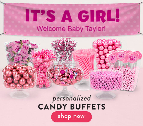 Shop Baby Girl Candy Buffets