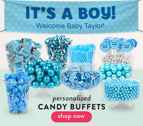 Shop Baby Boy Candy Buffets