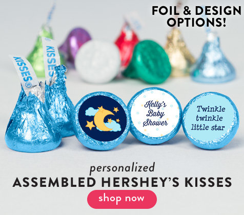 Personalized Hershey's Kisses