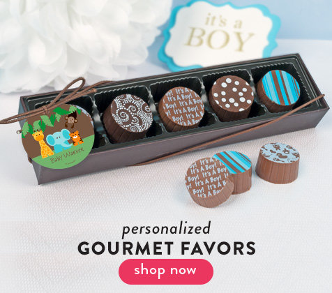 Personalized Gourmet Favors