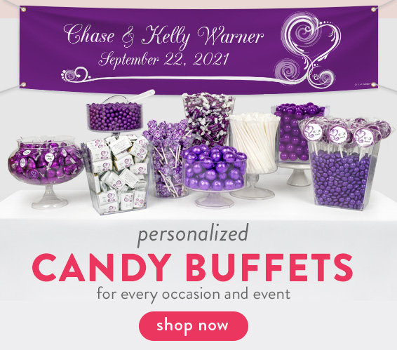 Personalized Candy Buffets