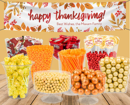 thanksgiving candy buffets