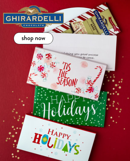 Personalized Ghirardelli Gifts