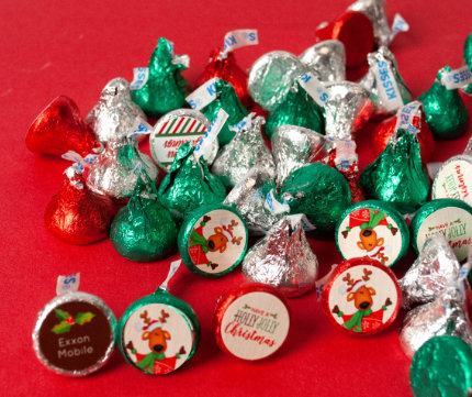 Personalized Holiday Kisses