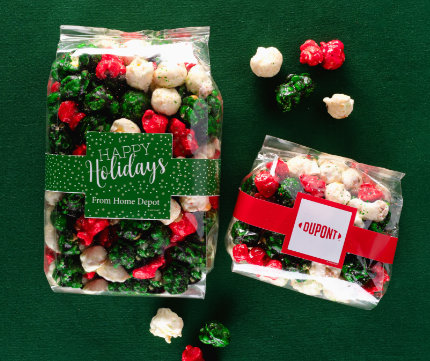 Personalized Christmas Popcorn
