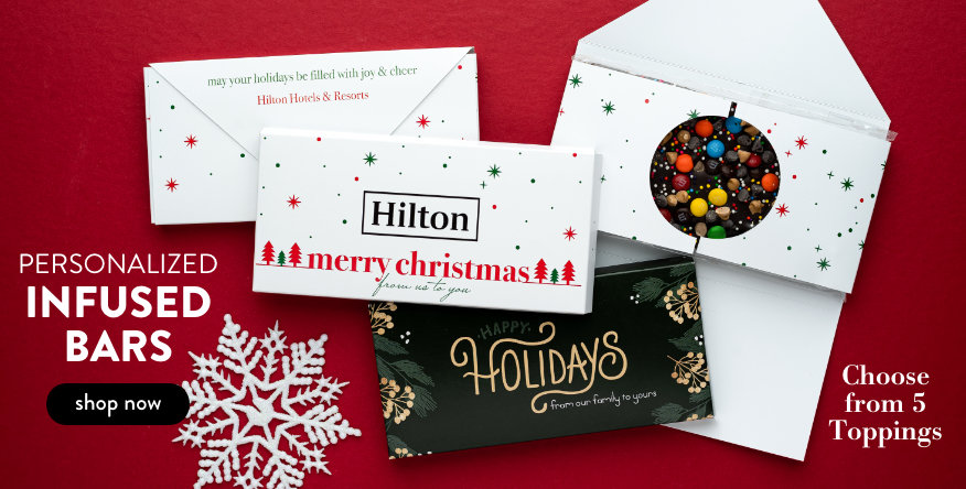 Holiday Gourmet Infused Chocolate Bars