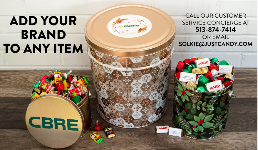 Add Your Logo to any tin