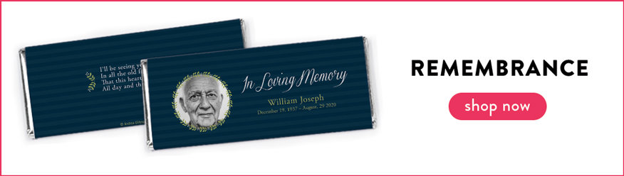 Remembrance Chocolate Bars