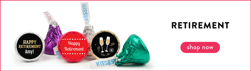 Retirement Hershey's Kisses