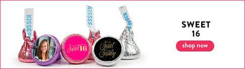 Sweet 16 Hershey's Kisses