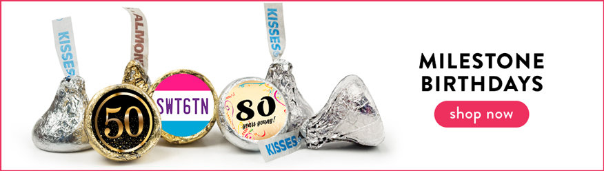 Adult Birthday Hershey's Kisses