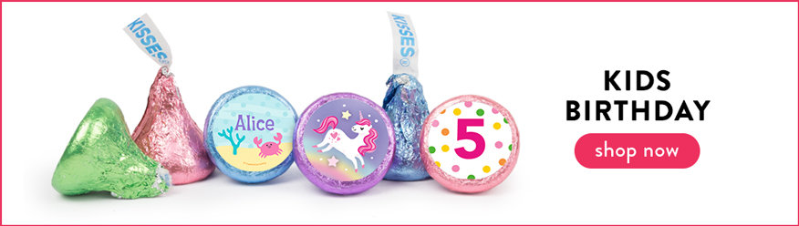 Kids Birthday Hershey's Kisses