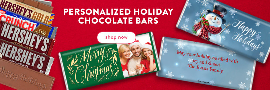 Shop Holiday Wrapped Chocolate Bars